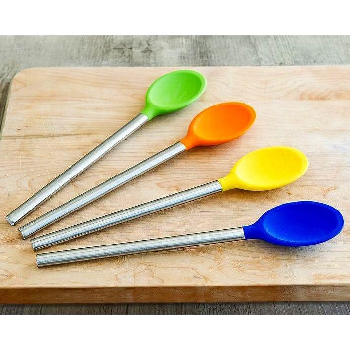 シリコン スプーン 4色セット Ici Silicone Spoon Set of 4