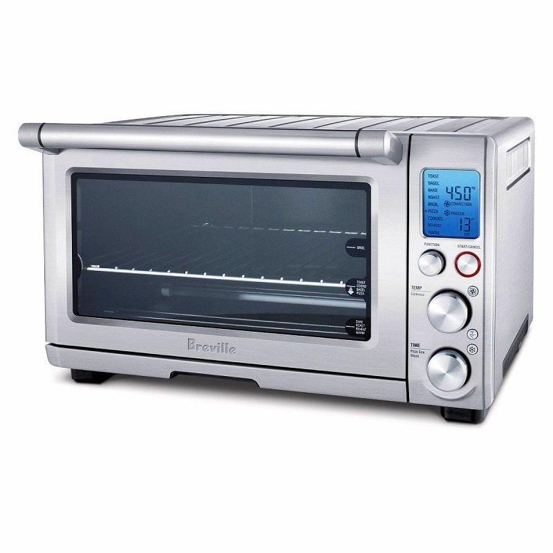 ブレビルオーブン&トースター スマート コンベクショントースターオーブン 33cmピザが焼ける!Breville BOV800XL The Smart Oven 1800-Watt Convection Toaster Oven with Element IQ 家電