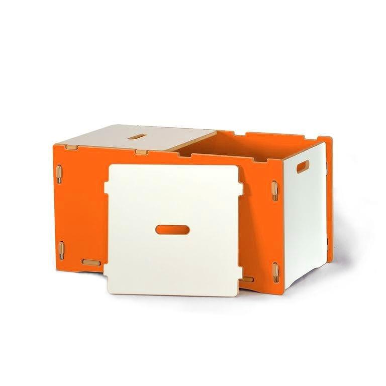 子供用おもちゃ箱 トイボックス キッズオーガナイザー ストレージ スプラウト オレンジToy Box Sprout