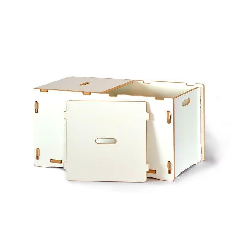 子供用おもちゃ箱 トイボックス キッズオーガナイザー ストレージ スプラウト ホワイト Toy Box Sprout