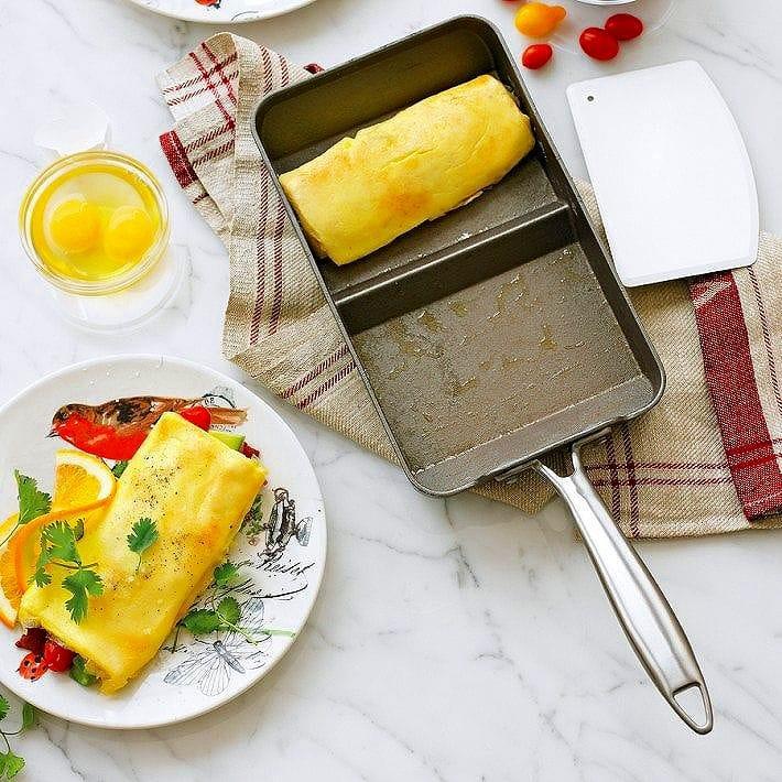 ノルディックウェア オムレツ フライパン ウイリアムズソノマ Nordic Ware Rolled Omelette Pan