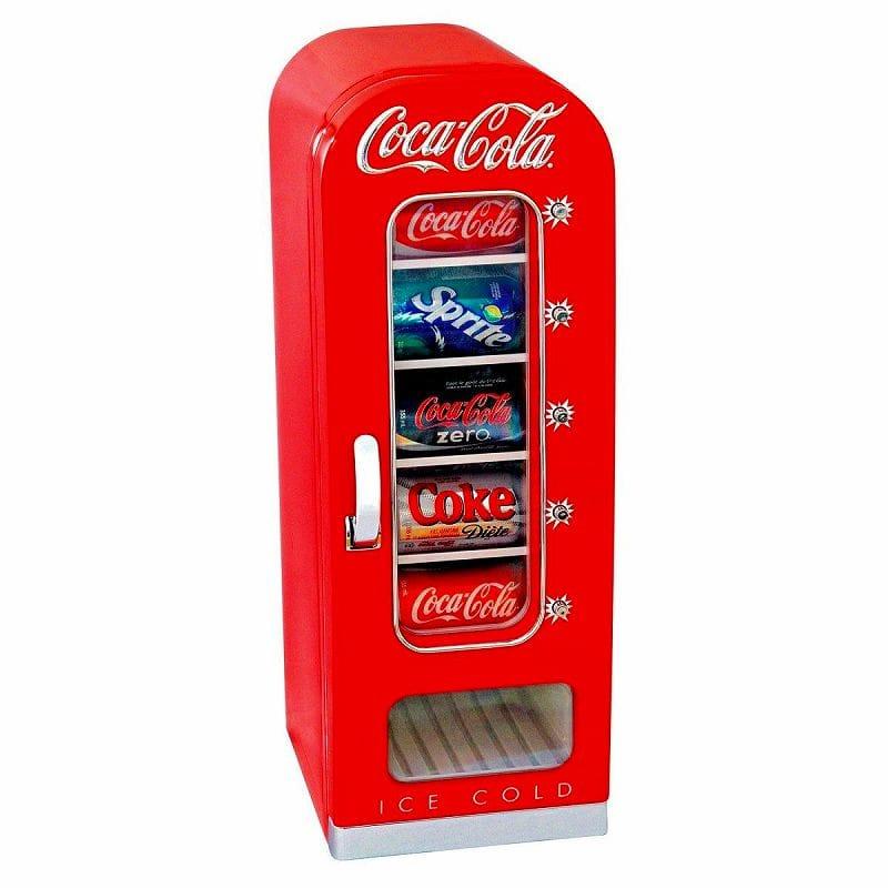 コカ・コーラ 自動販売機型 冷蔵庫 レトロ カリフォルニア 西海岸 CVF18 10-Can-Capacity Vending Fridge