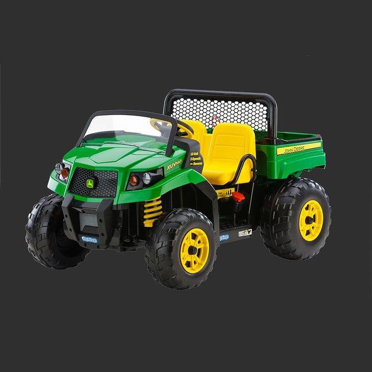 【組立要】ペグペレゴ ジョンディア 子供用二人乗り電気自動車 ゲイター グリーン 対象年齢3~8才 電動カー Peg Perego John Deere Gator XUV IGOD0063 Green