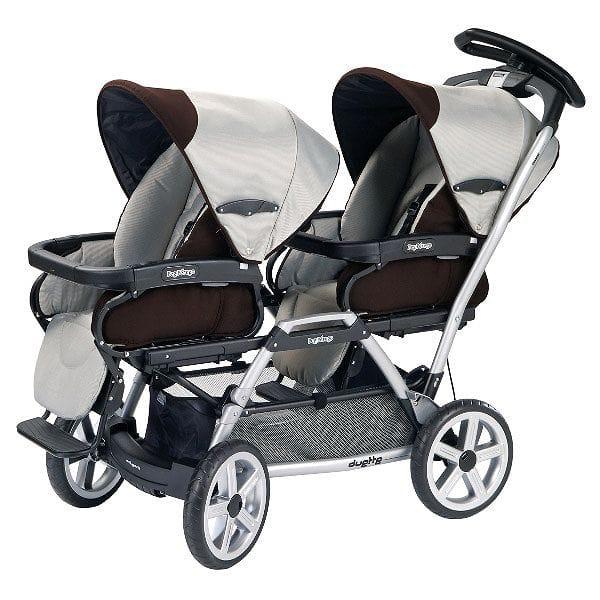 ペグペレーゴ デュエット 双子 ベビーカー ジャバPeg Perego Duette SW Double Stroller - Java