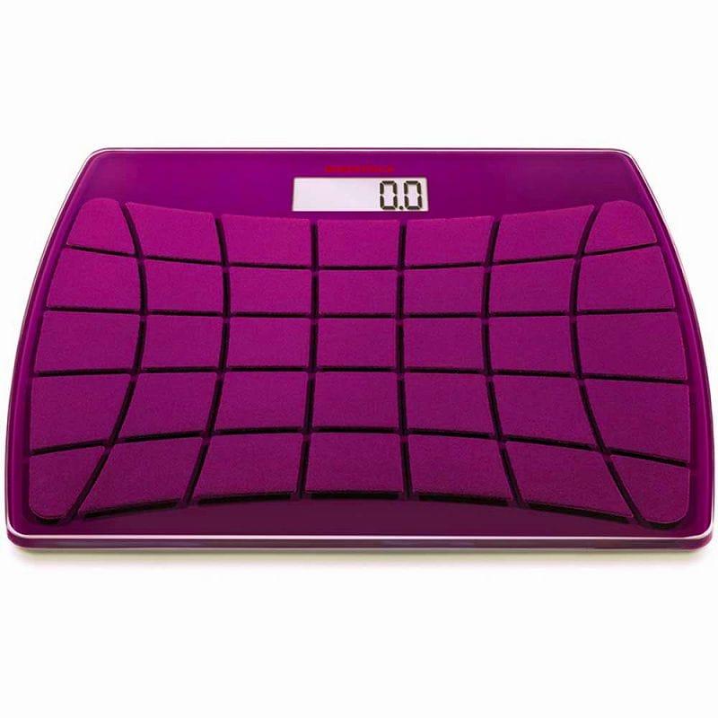 ツェーンレ 精密デジタル体重計 アートスタイルバススケールSoehnle 63312 Art Style Velvet Bath Scale Purple