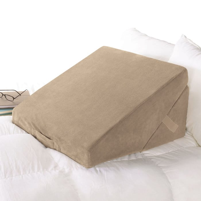 pin with comfort foam height bamboo multicolor pillow from cover bed deluxe padded wedge rayon