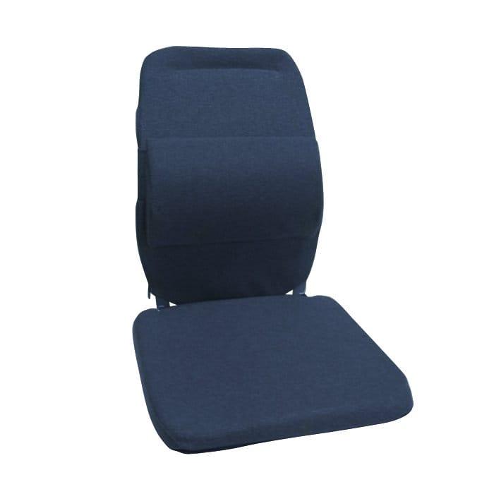 サクロ イース バック アンド 腰 サポート 車用 エクストラ パッディング ブルー Sacro-Ease Back and Lumbar Support Car Cushion with Extra Padding Blue
