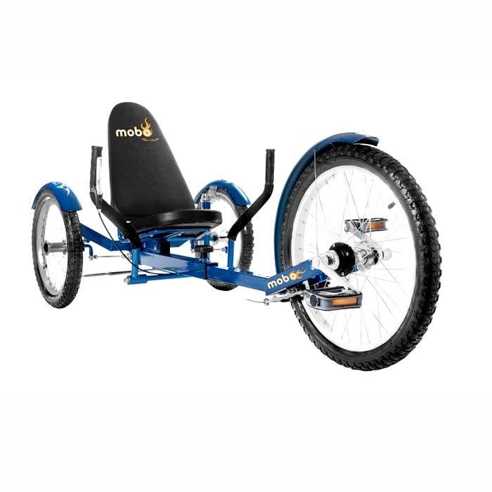 【組立要】 モボ プロ 三輪クルーザー バイク ブルー Mobo Triton Pro Ultimate Three-Wheeled Cruiser Bike Blue