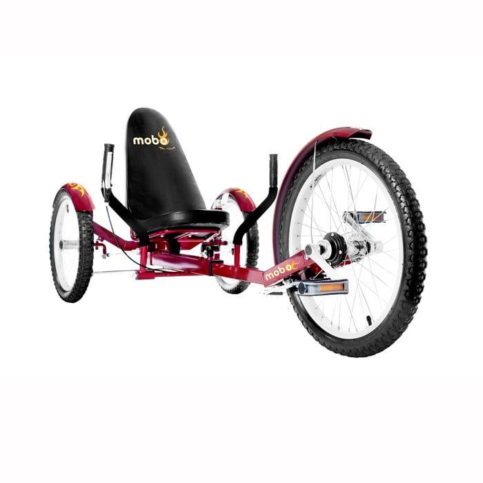【組立要】モボ プロ 三輪クルーザ バイク レッドMobo Triton Pro Ultimate Three-Wheeled Cruiser Bike Red
