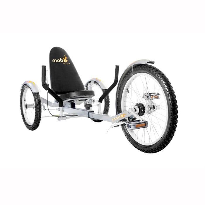【組立要】 モボ プロ 三輪クルーザーバイク シルバー Mobo Triton Pro Ultimate Three-Wheeled Cruiser Bike Silver