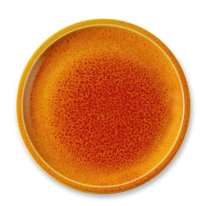 ウィリアムズソノマ ジャーズ フランス食器 4枚セット オレンジJars Cantine Dinner Plates Set of 4 Orange