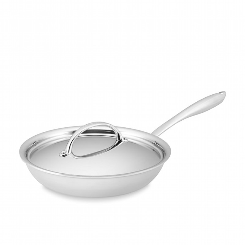 ウイリアムズソノマ フライパン 直径25cm PFOAフリー Williams-Sonoma Thermo-Clad Stainless-Steel Nonstick Covered Fry Pan