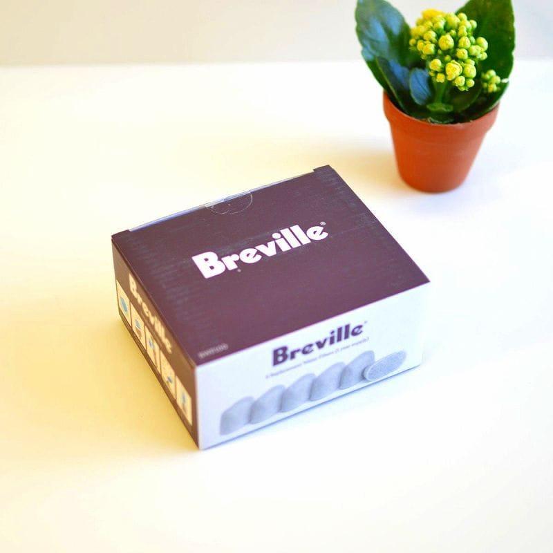 ブレビル コーヒーメーカー用 ウォーターフィルター 6個入 Breville BWF100 Replacement Water Filters, 6-Pack