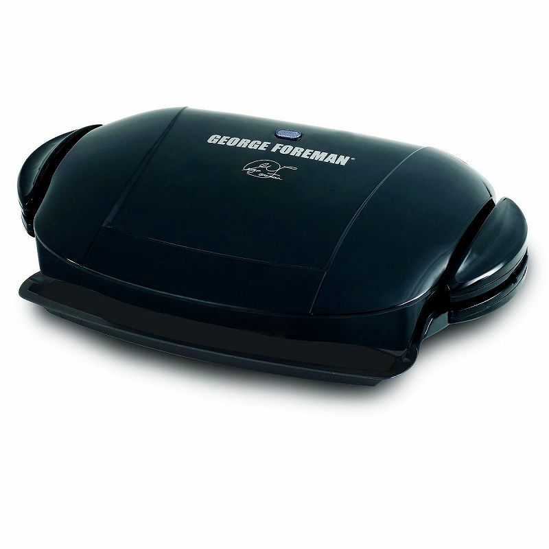 ジョージフォアマン 電気グリル ホットプレート George Foreman GRP0004B The Next Grilleration Grill Black 家電