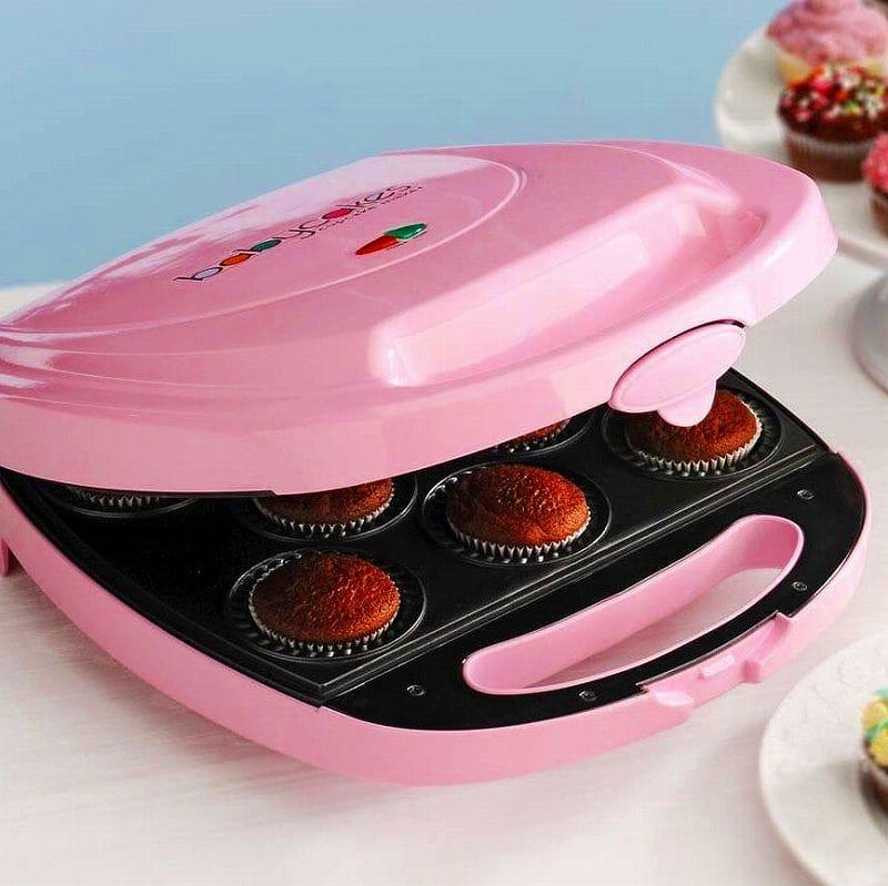 ベビーケーキス ミニカップケーキメーカー 8個Babycakes CC-2828PK Cupcake Maker Pink 8 Cupcakes おやつ作りに! 家電