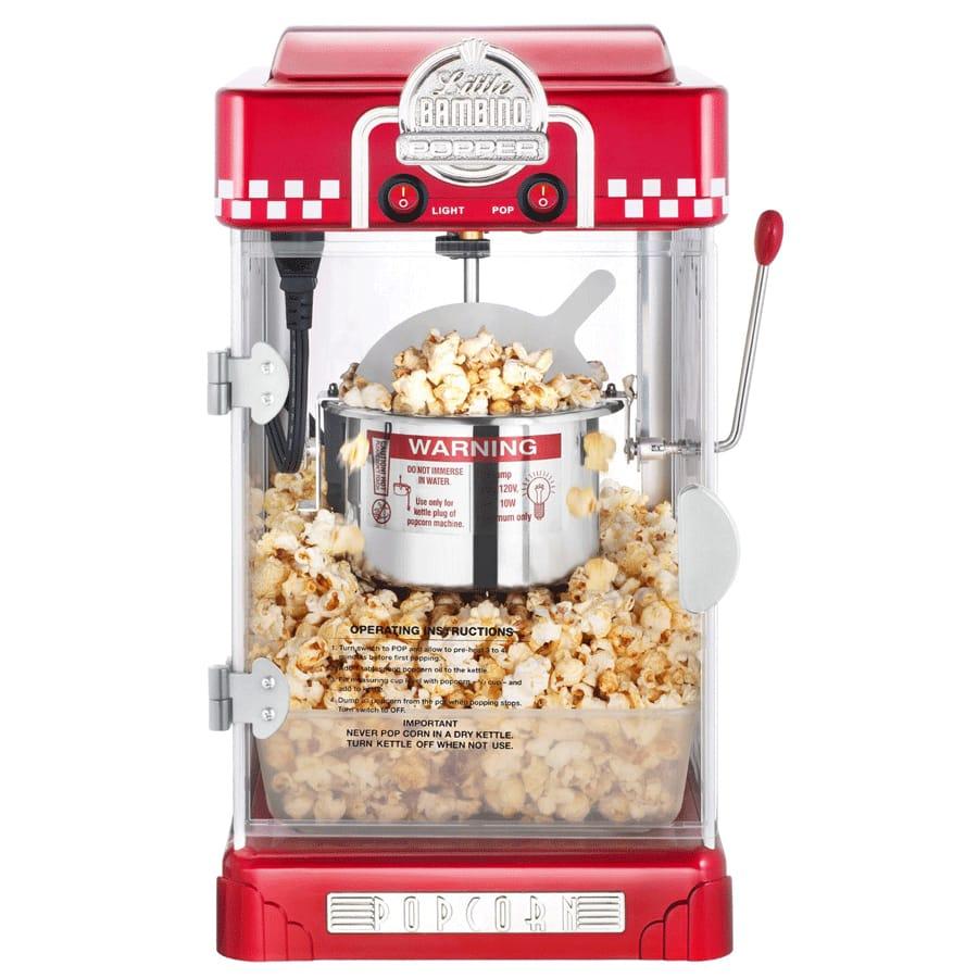 【30日間返金保証】【送料無料】【最大2年保証】 グレートノーザン ポップコーンメーカー 赤 レッド Great Northern Popcorn 6073 Red Little Bambino Retro Style Popper 家電
