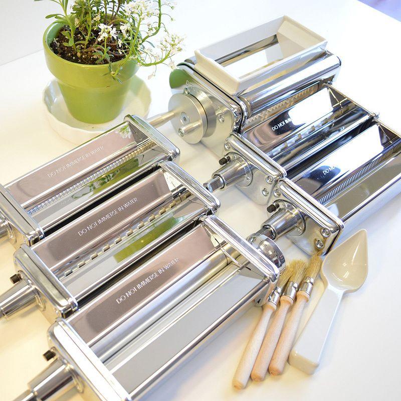 Attachment parts KitchenAid KPEX Pasta Excellence Set Attachment Pack for  kitchen aid pasta roller & cutter six points ...