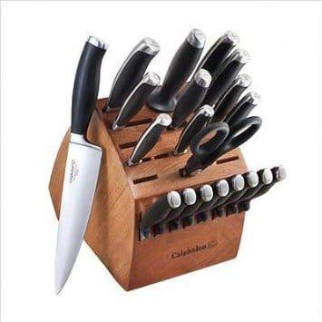 カルファロン 包丁 ナイフ 21点セット Calphalon Contemporary 21-Piece Knife Block Set KNS21C