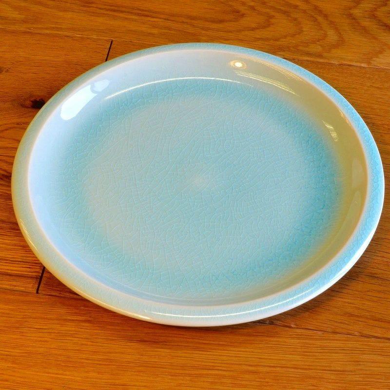 Williams Sonoma yards dinner plate France tableware light blue 4-piece set Jars Cantine Dinner Plates Set of 4 Light Blue & Alphaespace Inc.. | Rakuten Global Market: Williams Sonoma yards ...