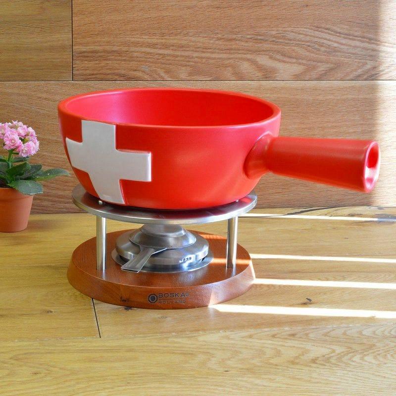 ボスカ fondue set chocolate fondue Switzerland Boska cheese Fondue set swiss 85-35-20