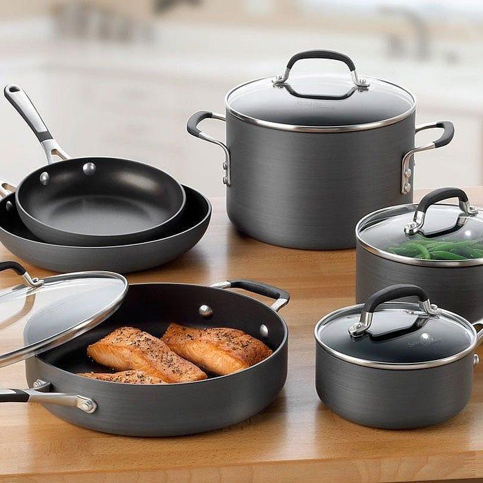 カルファロンクックウェアー pan seven points set PFOA-free Calphalon Contemporary  Nonstick Cookware Set 1775824
