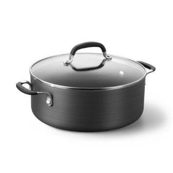 カルファロン 4.7L ノンスティック・チリポット フタ付両手鍋Simply Calphalon SA8785HP Nonstick 5-Quart Chili Pot SA8785HP