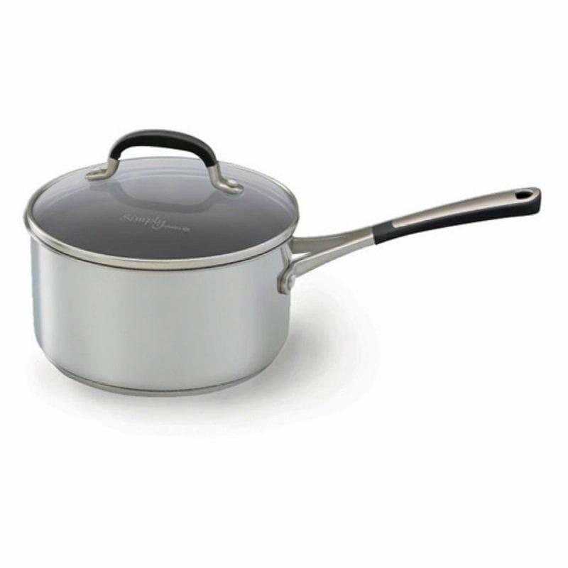 カルファロン 鍋 Simply Calphalon Stainless 2 Quart Saucepan 1757744