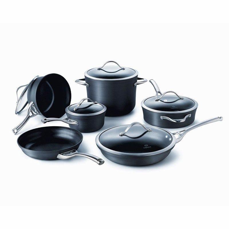 カルファロン 鍋11点セット Calphalon Contemporary Nonstick 11-Piece Cookware Set 1775823