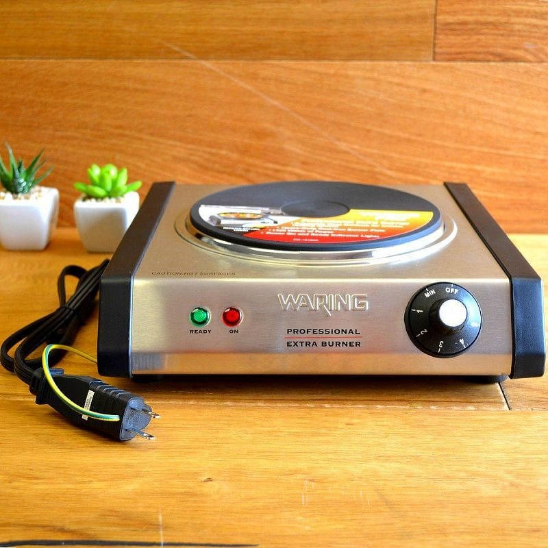 Waring Pro Wpm40 Portable Single Burner Heaters Waring Pro SB30 1300 Watt Portable  Single Burner