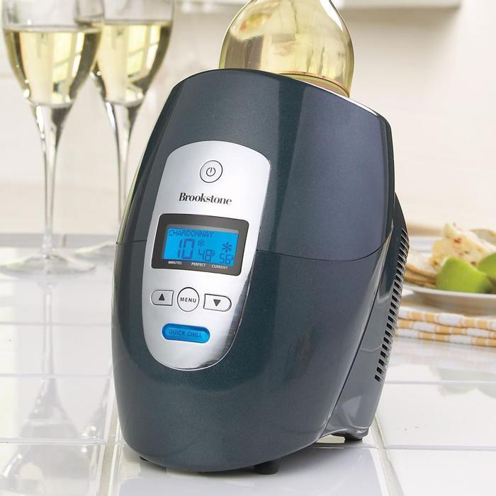 ワインチラー ワインを瞬時に最適温度に設定 冷やしたり温めたり シャンパン可 Iceless Wine Chiller 家電