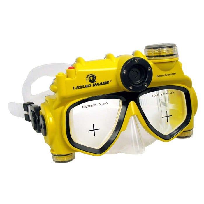 【30日間返金保証】【送料無料】 リキッドイメージ エクスプローラーシリーズ 3.1MP スキューバ デジタルカメラマスク Mサイズ Liquid Image XSC Explorer Series 3.1MP - Camera Mask - Mid Size
