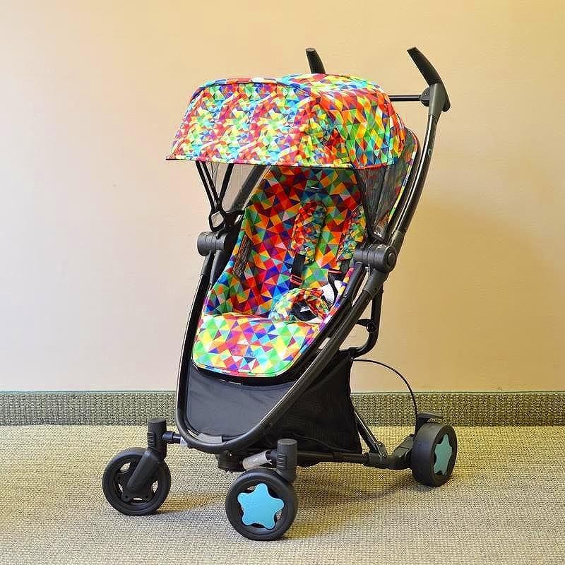 クイニー ザップ エクストラQデザイン ビビットカラー ベビーカーQuinny Zapp Xtra Q Design Vivid Colors