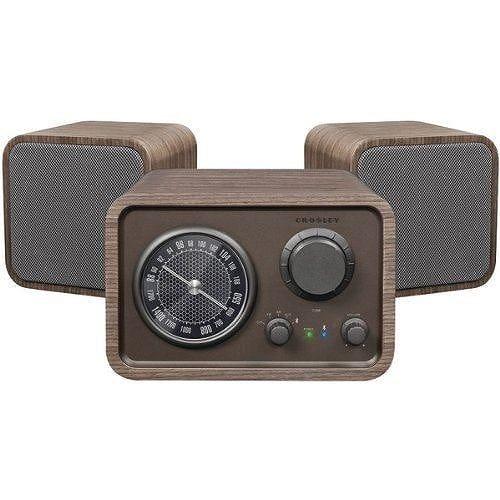 クロスリー ラジオ トリオ Bluetooth ステレオ システムTrio Stereo System
