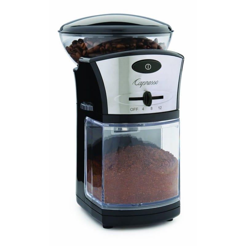 カプレッソ コーヒー グラインダー 豆挽き Capresso Coffee Burr Grinder 家電