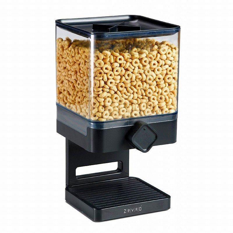 ゼブロ ポーション コントロール シングルコンパクト ディスペンサー Zevro Portion Control Single Compact Edition Dry Food Dispenser