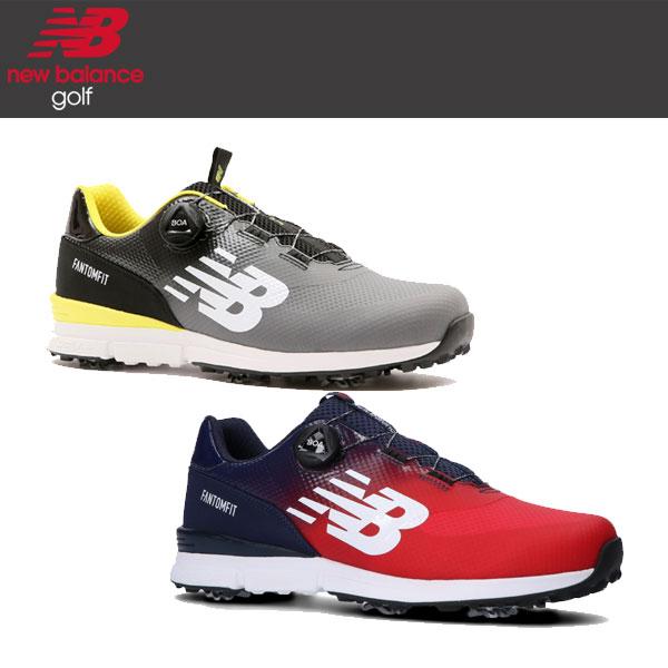 ニューバランス ゴルフ 574 メンズ ボア Boa ゴルフシューズ スパイク MGBF574 (G / T) / 日本正規品 2020年モデル / New Balance