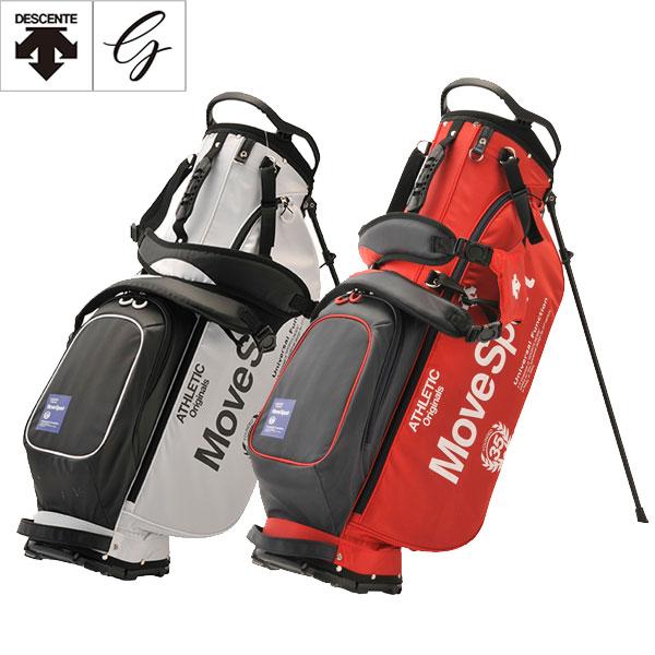 デサント ゴルフ 軽量 スタンド キャディバッグ メンズ レディース 8.5型 / スタンド式 DQBPJJ04 / DESCENT GOLF