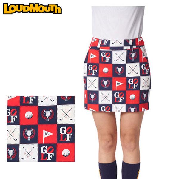 ラウドマウス レディース ゴルフ スカート 760357 251 アイラブゴルフ (I Love Golf) 2020SS