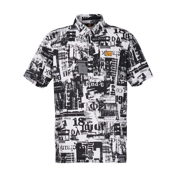ラウドマウス メンズ ゴルフウェア 760605 半袖 ポロシャツ カラー:242 ヘッドラインゴルフ