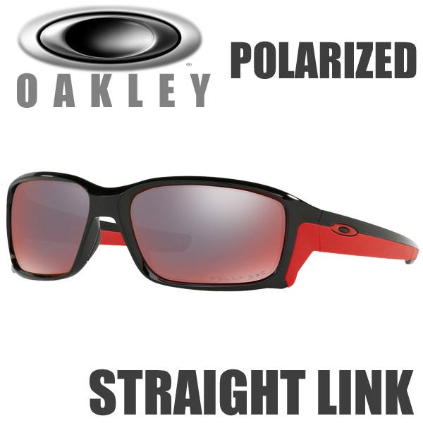 オークリー ストレートリンク 偏光レンズ サングラス スタンダードフィット / USフィット / OO9331-08 トーチ イリジウム ポラライズド / ポリッシュド ブラック(OAKLEY STRAIGHTLINK POLARIZED)