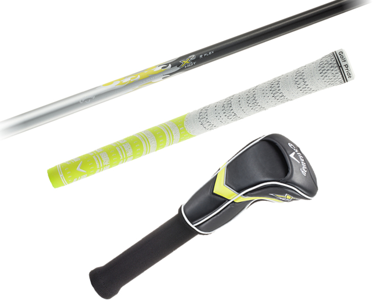 2 Japanese specifications Calloway X2 HOT X X 2 hot driver