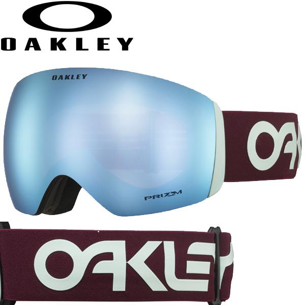 (10月初旬以降発送予定) オークリー OAKLEY スノー ゴーグル フライトデッキ OO7050-72 スタンダードフィット プリズム スノー サファイア イリジウム ファクトリーパイロット プログレッション FLIGHT DECK USAモデル