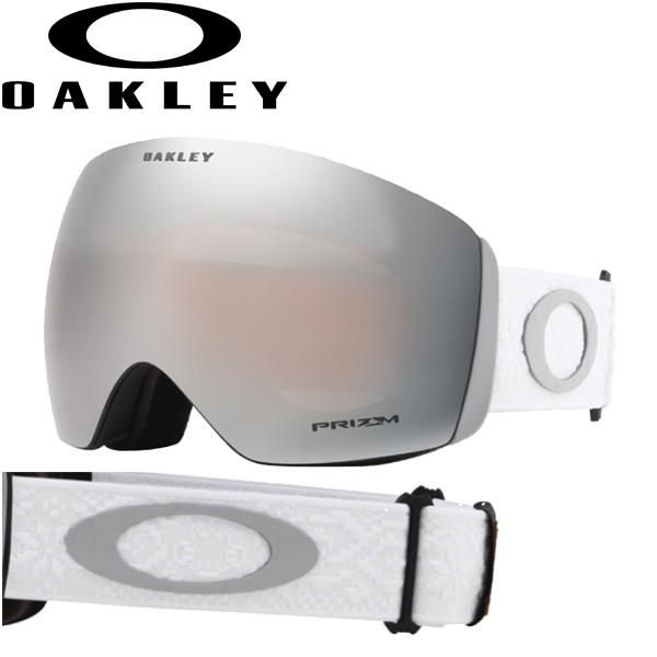 (10月初旬以降発送予定) オークリー OAKLEY スノー ゴーグル フライトデッキ OO7050-74 スタンダードフィット プリズム スノー サファイア イリジウム シュレッドボット ホワイトアウト FLIGHT DECK USAモデル