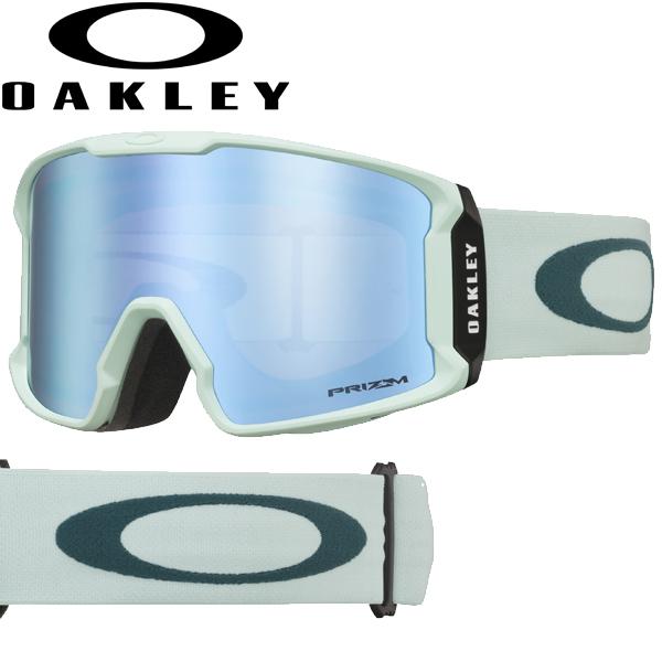 (10月初旬以降発送予定) オークリー OAKLEY スノー ゴーグル ラインマイナー OO7070-45 スタンダードフィット プリズム スノー サファイア イリジウム ジャスミン バルサム LINE MINER USAモデル