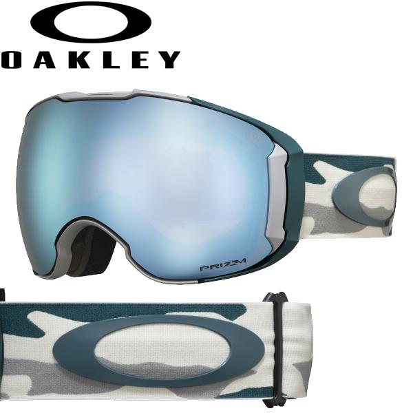 (10月初旬以降発送予定) オークリー OAKLEY スノー ゴーグル エアブレイク XL OO7071-37 スタンダードフィット プリズム スノー サファイア イリジウム バルサム カモ AIRBRAKE XL USAモデル