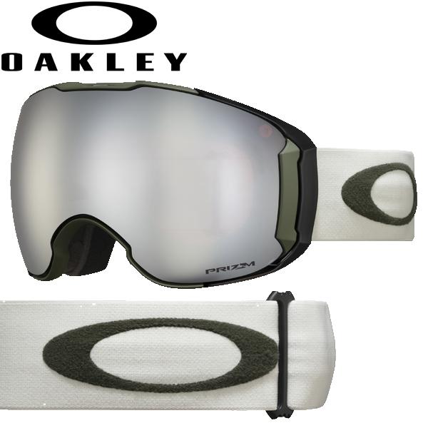 (10月初旬以降発送予定) オークリー OAKLEY スノー ゴーグル エアブレイク XL OO7071-40 スタンダードフィット プリズム スノー ブラック イリジウム ダークブラッシュ グレー AIRBRAKE XL USAモデル