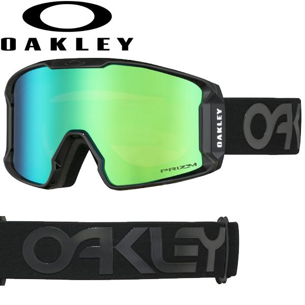 (10月初旬以降発送予定) オークリー OAKLEY スノー ゴーグル ラインマイナー XM OO7093-12 スタンダードフィット プリズム スノー ジェイド イリジウム ファクトリーパイロット ブラックアウト LINE MINER XM USAモデル