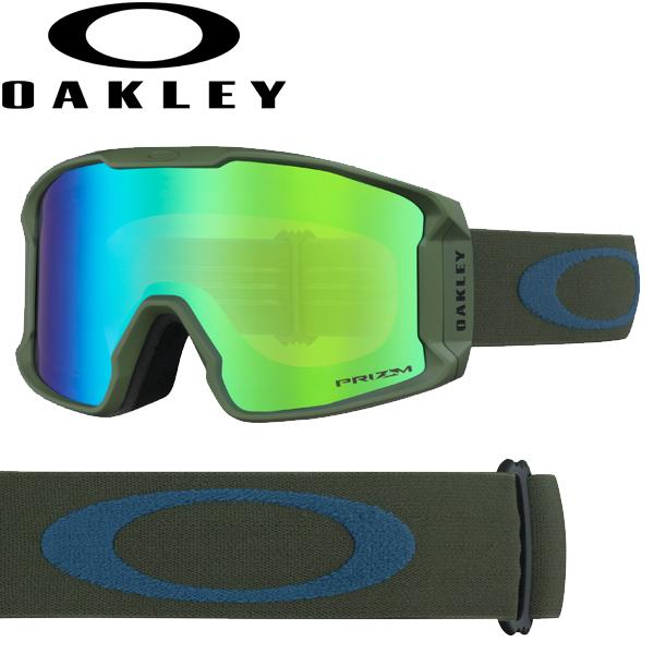 (10月初旬以降発送予定) オークリー OAKLEY スノー ゴーグル ラインマイナー XM OO7093-22 スタンダードフィット プリズム スノー ジェイド イリジウム ダーク ブラッシュ ポセイドン LINE MINER XM USAモデル