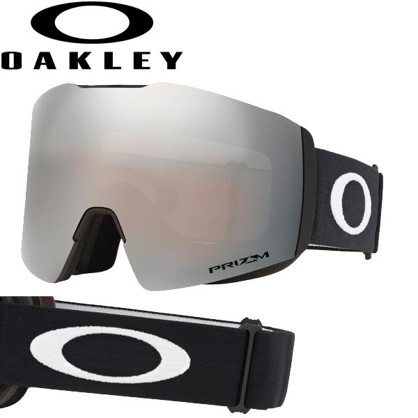 (10月初旬以降発送予定) オークリー OAKLEY スノー ゴーグル フォールライン XL OO7099-01 スタンダードフィット プリズム スノー ブラック イリジウム マットブラック FALL LINE XL USAモデル