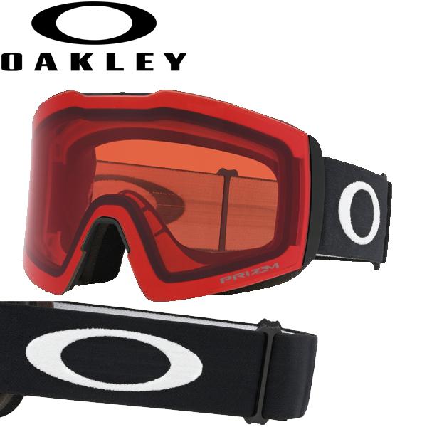 (10月初旬以降発送予定) オークリー OAKLEY スノー ゴーグル フォールライン XL OO7099-04 スタンダードフィット プリズム スノー ローズ マットブラック FALL LINE XL USAモデル
